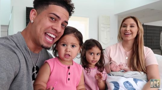 ACE Family's Austin McBroom and Catherine Paiz's Son Steel Is YouTube's Cutest Baby