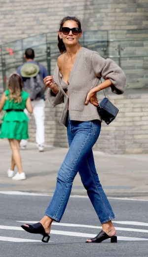 Fall-Fashion Overachievers: A+ for Katie Holmes, J.Lo, Rihanna, and More