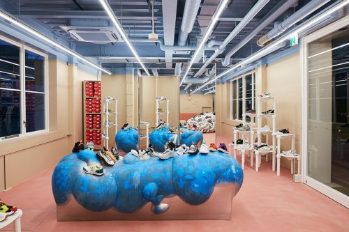 Take a Look Inside Sneakersnstuff's Traditional-Meets-Futuristic Tokyo Flagship Store