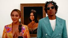 Beyoncé And Jay-Z Accept Brit Award In Front Of Royal Meghan Markle Portrait