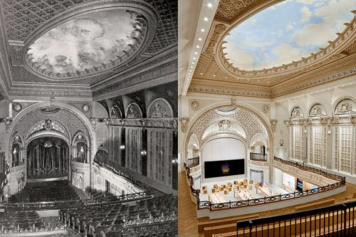 Apple Has Refurbished an Iconic Los Angeles Theatre To Make Way for Its Newest Retail Space