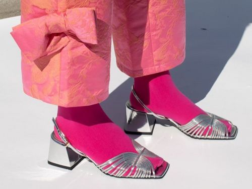 Forget Dad Sneakers-Here's Why It's All About Grandma Heels for Spring
