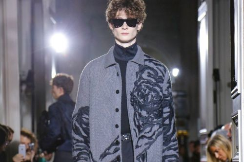 Valentino Explores Masculinity's Artistic Side for Fall/Winter 2018 Menswear