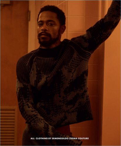Lakeith Stanfield Dons Ermenegildo Zegna Couture for Essential Homme Cover Story