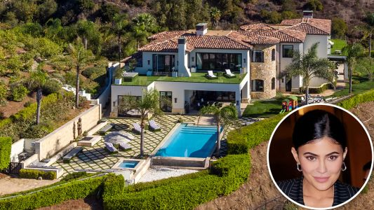 Kylie Jenner Pays $450,000 a Month to Rent Her Malibu Mansion and We. Are. In. Awe. - See Pics!
