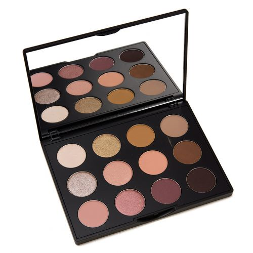 MAC Nude Model Art Library Palette Review & Swatches