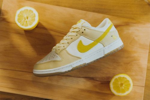 """Here's a Closer Look at the Nike Dunk Low """"Lemon Drop"""""""