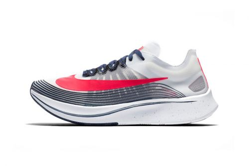 """Nike Zoom Fly SP Welcomes a Patriotic Mix of """"White/Flash Crimson-Metallic Silver"""""""