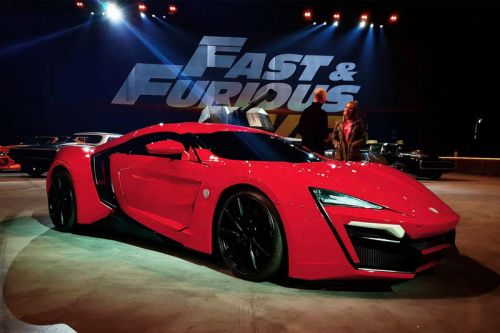 A Number of Cars from the 'Fast & Furious Live' Show Are Now up for Auction