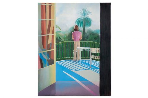 Little-Known David Hockney Painting Expected to Fetch $45 Million USD at Christie's Auction