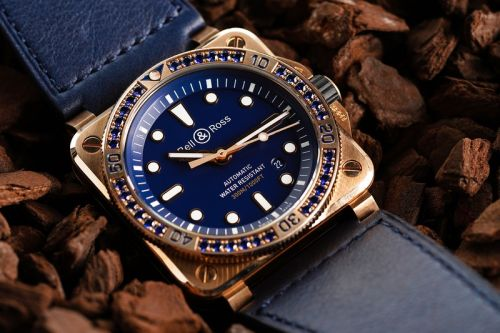 Bell & Ross Elevates Its BR03-92 Dive Watch With Bronze & Blue Sapphire Construction