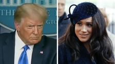 Donald Trump Says He's 'Not A Fan' Of Meghan Markle, Wishes Harry 'Luck'