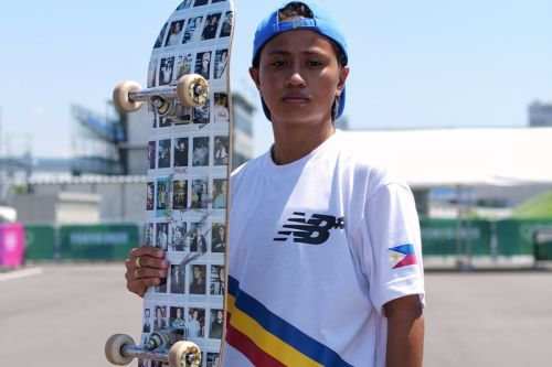 Olympic Skateboarder Margielyn Didal Is Just Happy To Be Here