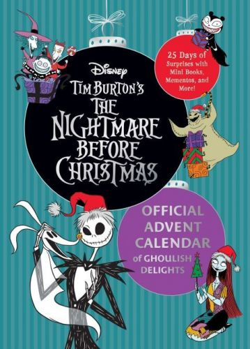There's a 'Nightmare Before Christmas' Advent Calendar-& It Comes With Sally & Jack Skellington Stickers