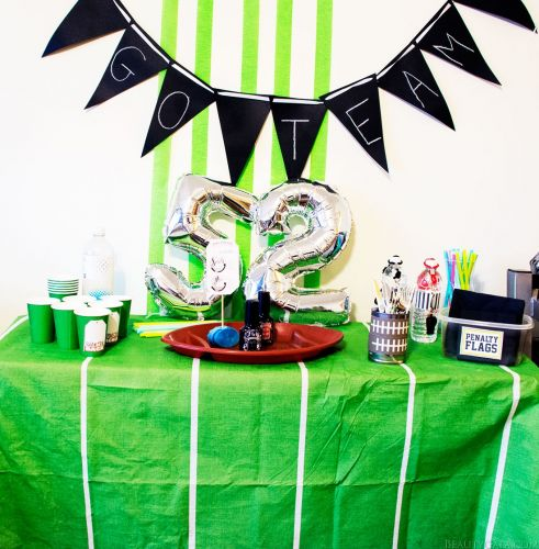 Decorating For The Big Game On A Budget!