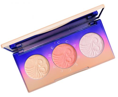 Becca Light Waves Highlighter Palette Review, Photos, Swatches