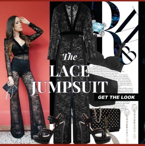 My Look: The Lace Jumpsuit