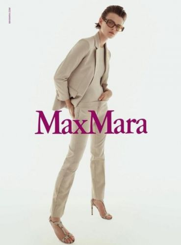 Cara Taylor by Steven Meisel for MaxMara S/S 2018
