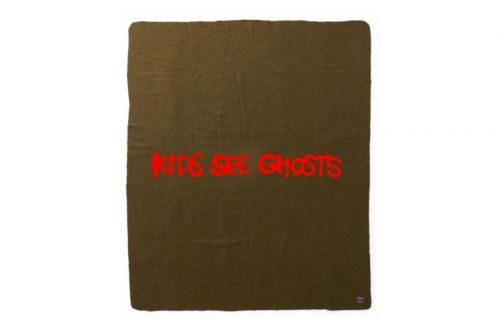 Kid Cudi & Kanye West Drop Limited 'Kids See Ghosts' Military Blanket