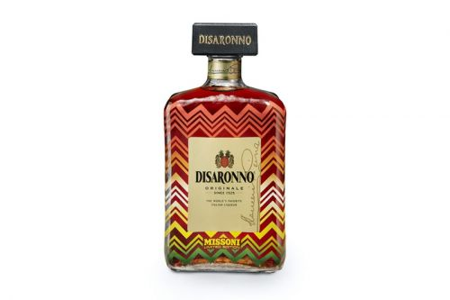 Disaronno Dresses Limited-Edition Bottles in Missoni