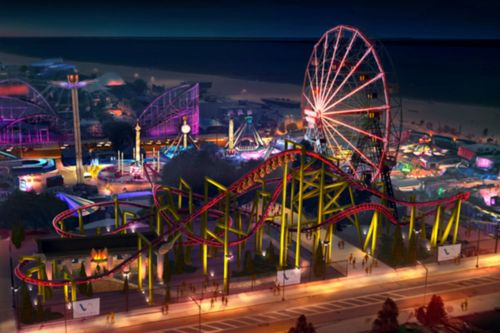 New Coney Island roller coaster The Phoenix to open by July 4
